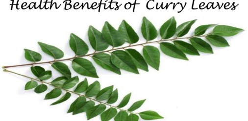 helath benefits of curry leaves