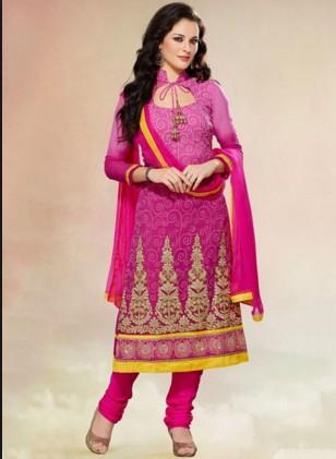 Churidar Neck Designs For Stitching