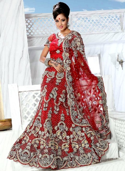 most gorgeous bridal lehenga