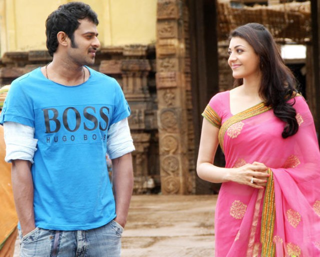 kajal aggrawal with prabhas