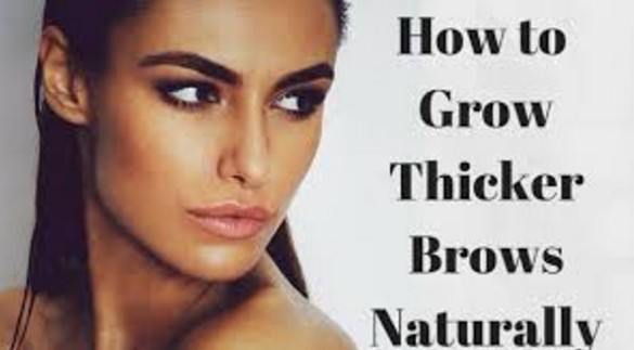 thicker eyebrows naturally