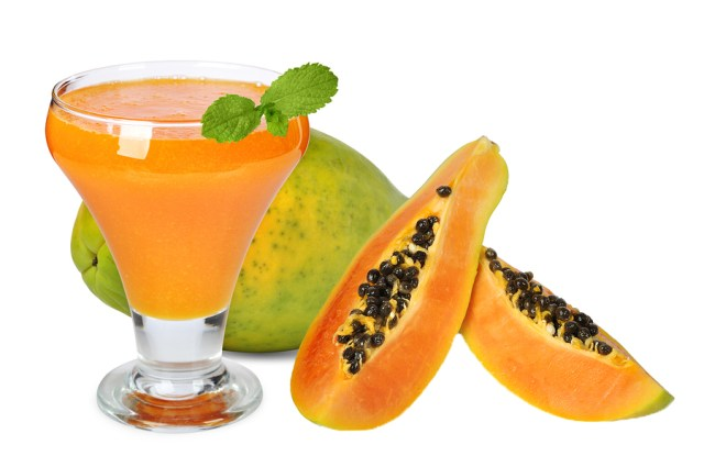 benefits of papaya juice