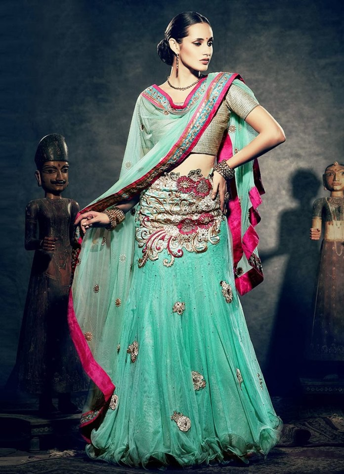 designer bride wear