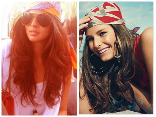 hippie hairstyle for long and short hairs