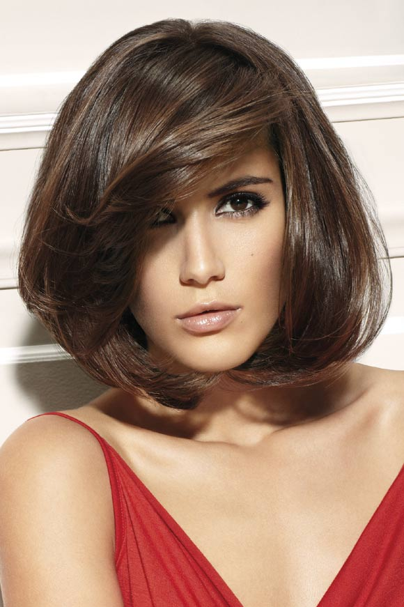 Brilliant Top 10 Best Hairstyles For Big Foreheads Female Short Hairstyles Gunalazisus