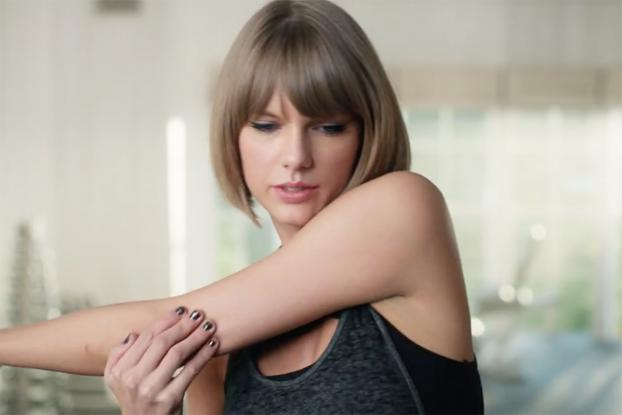 strectchnh taylor swift in gym