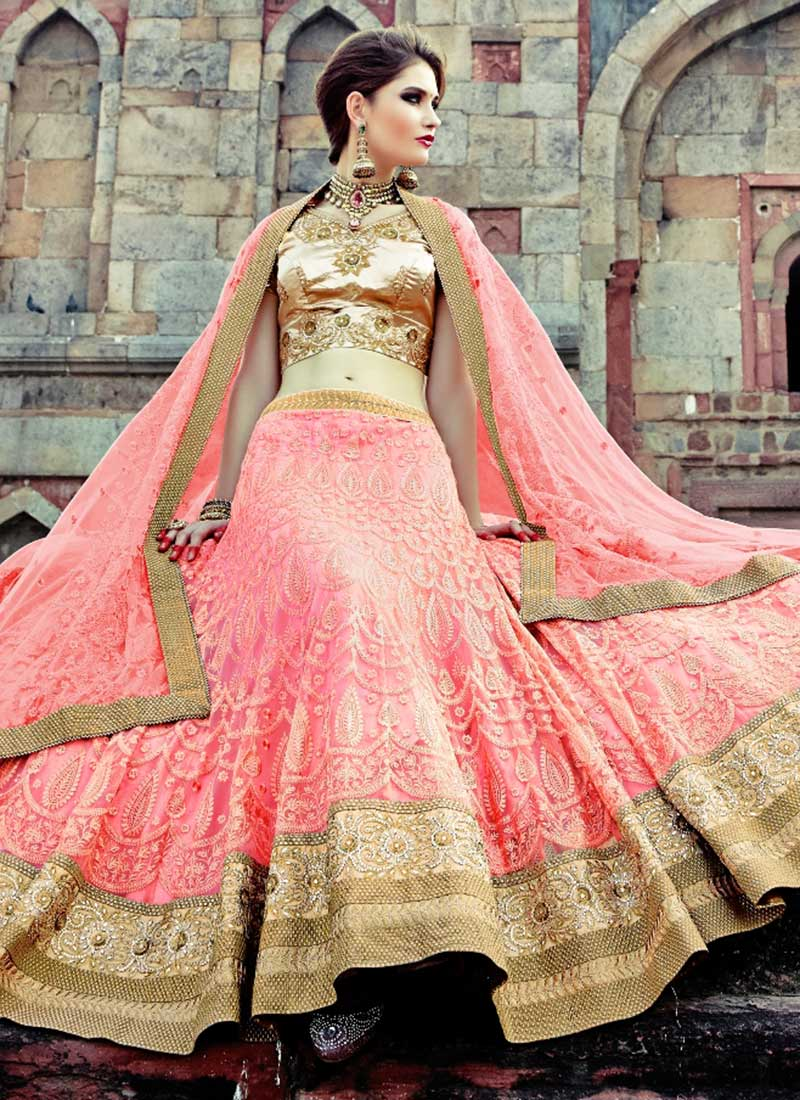 60 fabulous beautiful designer choli lehenga bridal