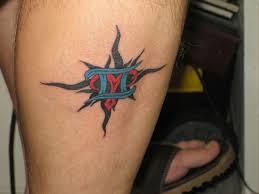 sparkling gemini tattoo design