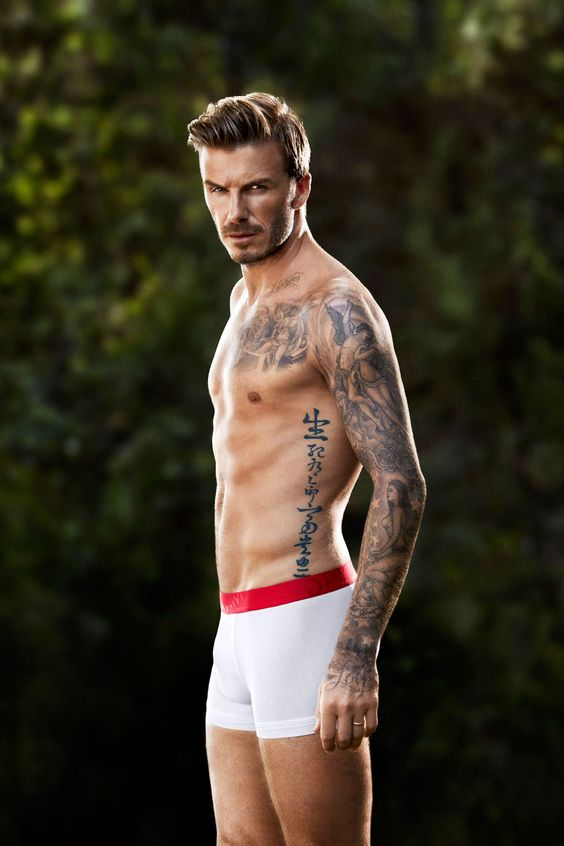 chinese tattoo on the david beckham