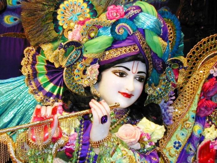 lord krishna hd wallpaper