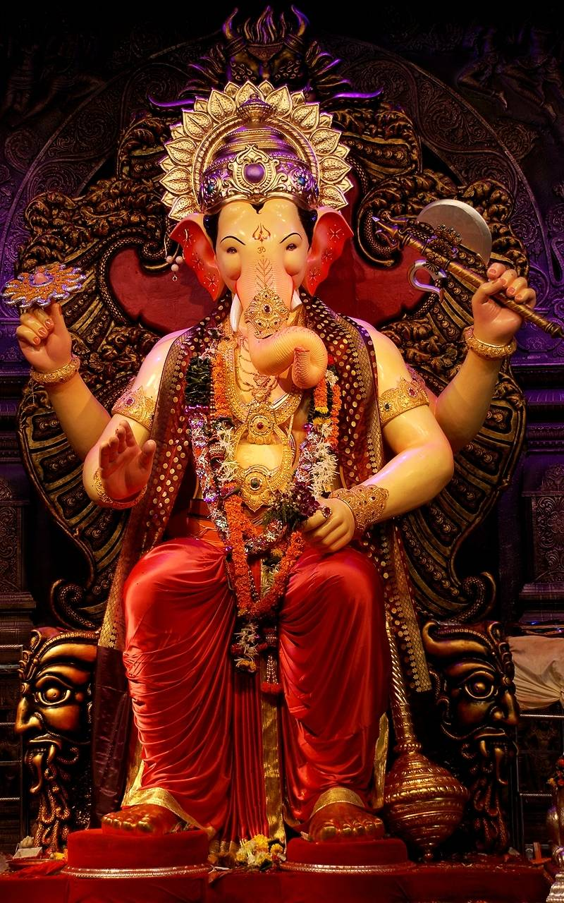 Top 50 lord ganesha wallpaper images latest pictures collection - Shri ganesh hd photo ...