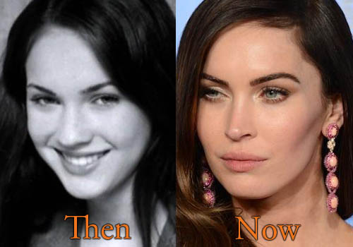 comparision Megan Fox Without Makeup