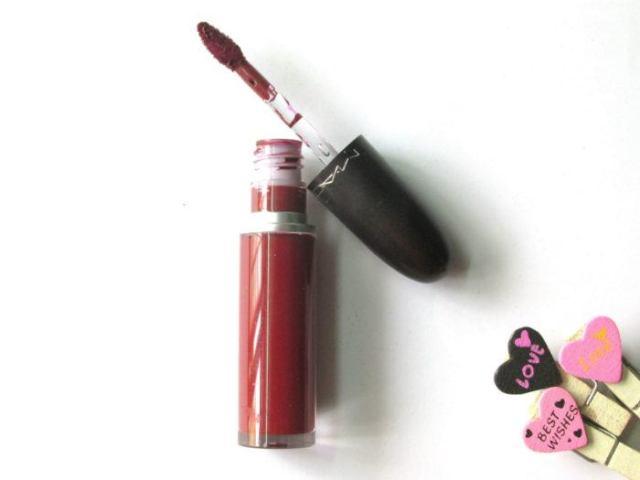 MAC Retro Matte Liquid Lipcolour – High Drama