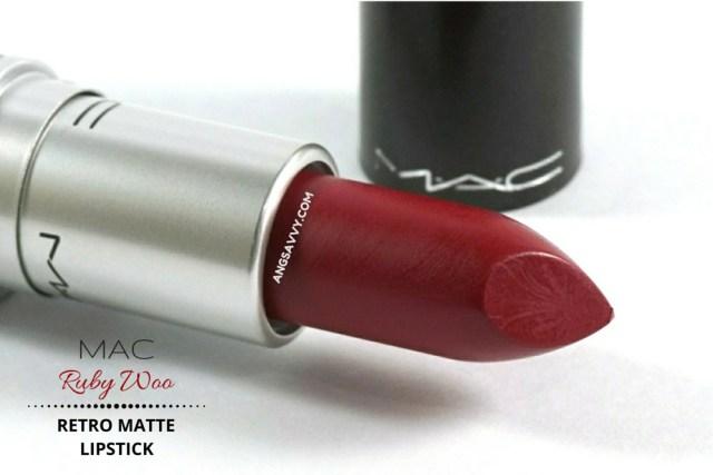 Mac Retro Matte Lipstick-Ruby woo