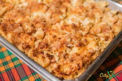 3 Cheese Macaroni Casserole