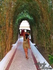 SeaGarden Resort- bamboo canopy