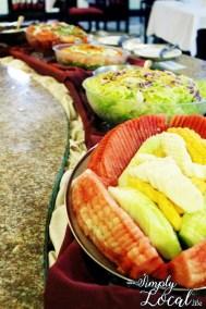 SeaGarden Resort- fruits and salads