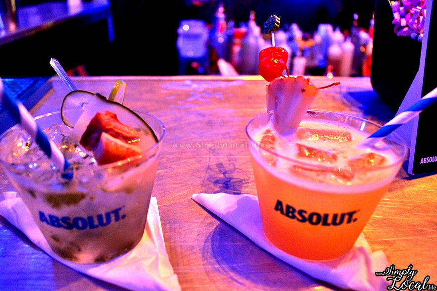 Absolut Mojito and Tropical Paradise Select Brands Jamaica Food Fest