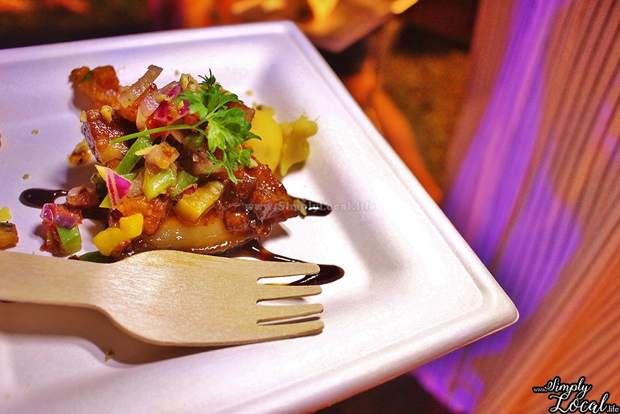 Fromage brasserie Pork Tenderloin Jamaica Food Festival