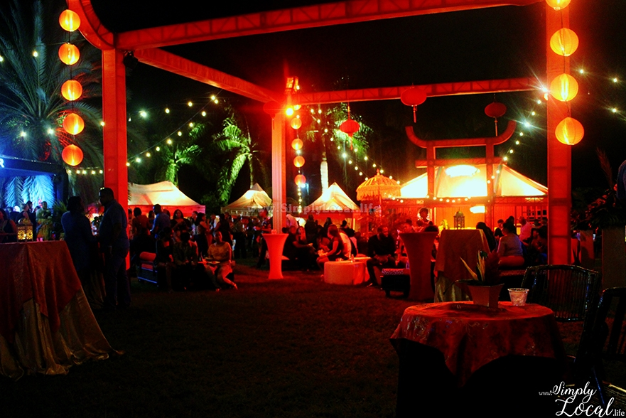 Jamaica Food Drink Fest Chopstix oriental decor
