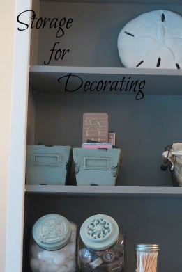 storage for decorating