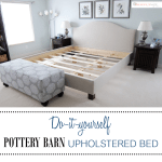 Diy Pottery Barn Upholstered Bed Simply Made By Rebecca