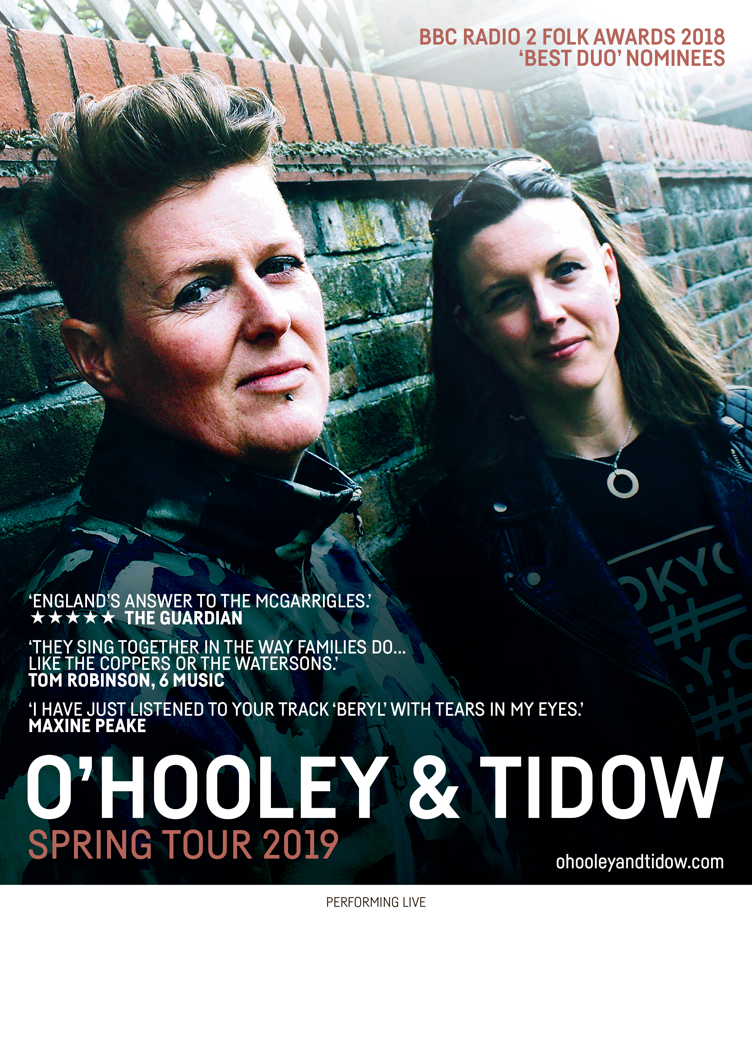 Ohooley Amp Tidow Spring Tour 2019 Simply Marvellous Music