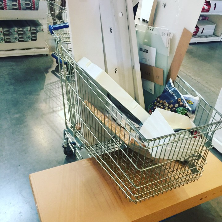 IKEA Funiture is perfect for small spaces