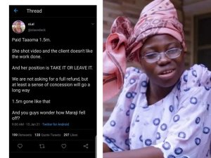 Taaooma Threatens To Sue Twitter User, Blogs Over Defamation