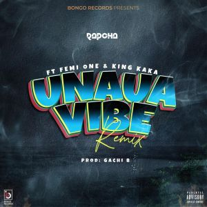 Rapcha Ft. Femi One & King Kaka – Unaua Vibe Remix