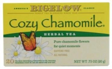Bigelow-Tea-Herbal-Tea-Caffeine-Free-Cozy-Chamomile-072310000414-2-e1432414972841