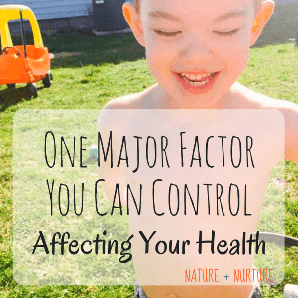 One factor that affects your health in a huge way – it's not food or exercise!