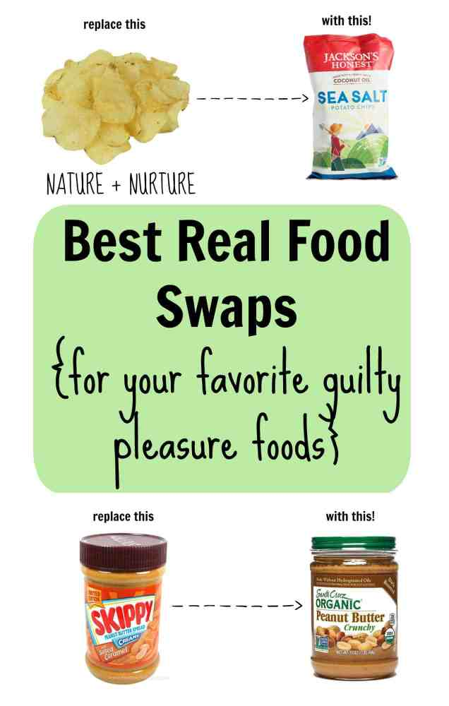 Best Real Food Swaps for Your Favorite Guilty Pleasure Foods