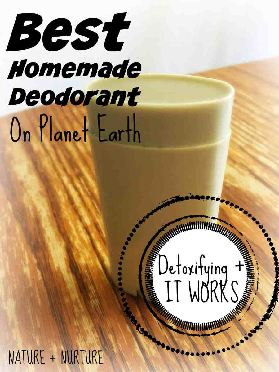 Homemade Deodorant that Works - Best on Planet Earth!
