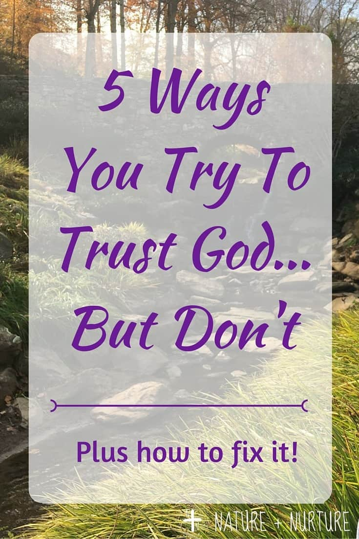 What Trusting God Is NOT-2
