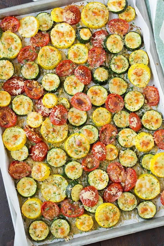 recipes for summer vegetables