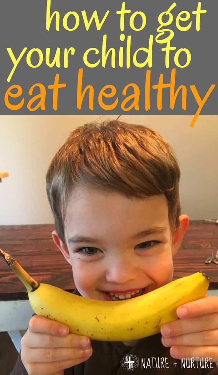 How to Get Kids to Eat Vegetables (and other yucky things)