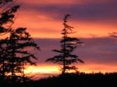 Sunrise over Mt. Constitution