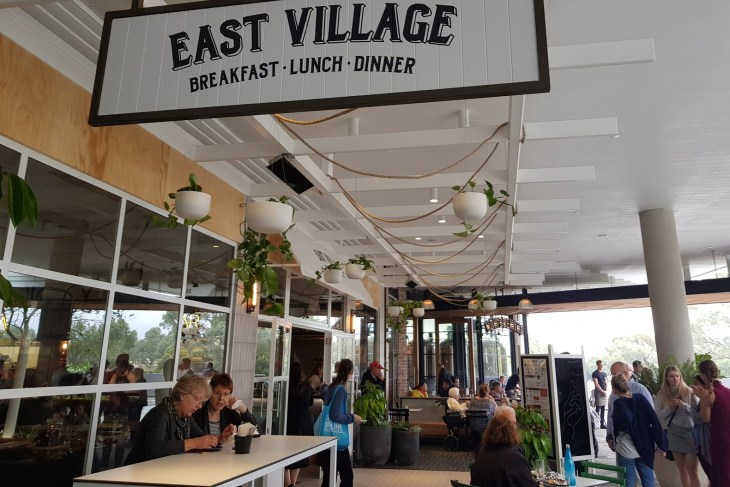 East Village, Westfield Whitford City