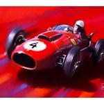 Ferrari Dino 246 F1 Wolfgang Von Trips Art Print Simply Petrol