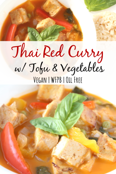 Thai Red Curry With Tofu Simply Plant Based Kitchen