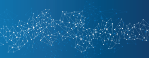 connected-dots-blue-background