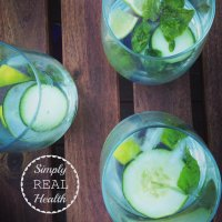 Cucumber-Basil Gin + Tonics. And Healthier Summer Cocktail Tips:
