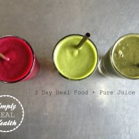 [Download Now]: 3 Day Real Food + Pure Juice Reset