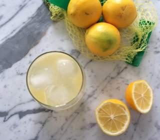 Meyer Lemon Working Girl Cocktail