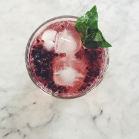 Blackberry Shrub (for healthier summer cocktails + mocktails)