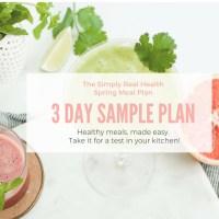 New! A 3 Day Sample of the Spring Meal Plan (download now)