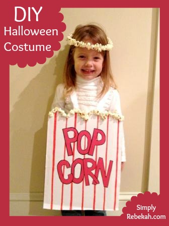 DIY Cheap, Easy, and Adorable Popcorn Halloween Costume ...