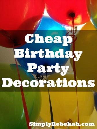Simple Birthday Decor In Home Party Themes Pj Craft