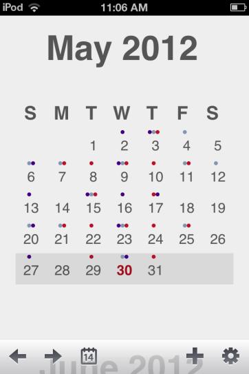Agenda is a nice, minimalist calendar app.